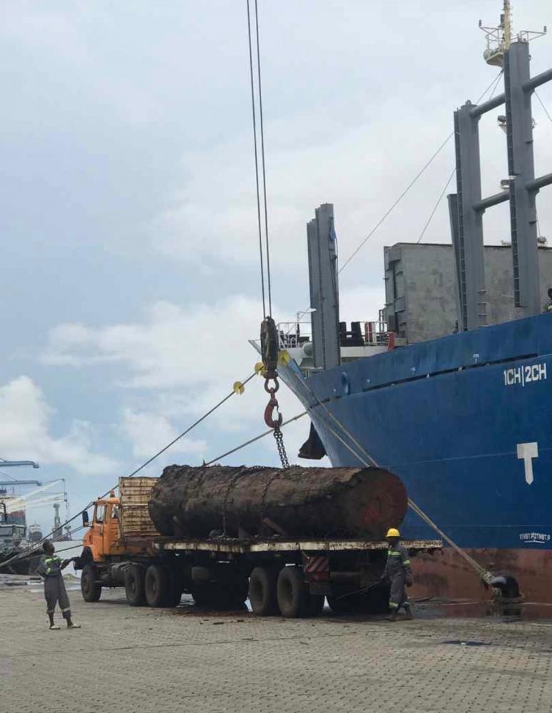 MUKULUNGU SHIPPING - 刚果铁木